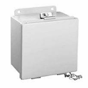 "Hubbell-Wiegmann B100804 Enclosure, NEMA 12, Lift-Off Cover, 10"" x 8"" x 4"", Steel"