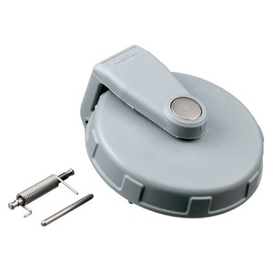 Hubbell-Wiring Kellems CA3430 Cap for IEC Pin & Sleeve Receptacle, 30A, 3 & 4 Wire, Gray, Non-Metallic