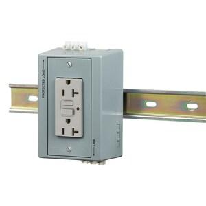 Hubbell-Wiring Kellems DRUBGFI20AC DIN-R UTL BOX, 20A