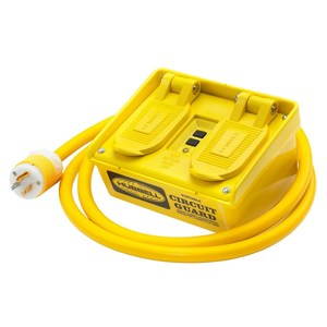 Hubbell-Wiring Kellems GFP15M PORT GFCI, 15A 120V, 4