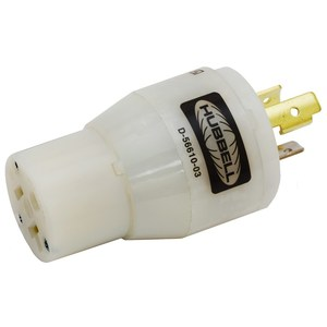 Hubbell-Wiring Kellems HBL2274 ADAPTER, NEMA L5-15P TO