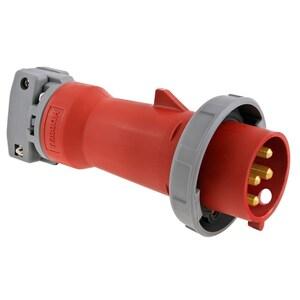 Hubbell-Wiring Kellems HBL432P6W PS, IEC, PLUG, 3P4W,
