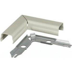 Hubbell-Wiring Kellems HBL511IV Raceway 90° Flat Elbow, Steel, Ivory, HBL500 Series
