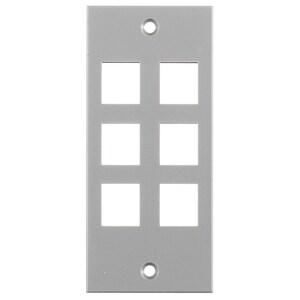Hubbell-Wiring Kellems HBLAMP313SGY FACEPLATE, SCREW