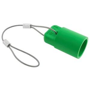 Hubbell-Wiring Kellems HBLFCAPGN SINGLEPOLE, FEM CAP,