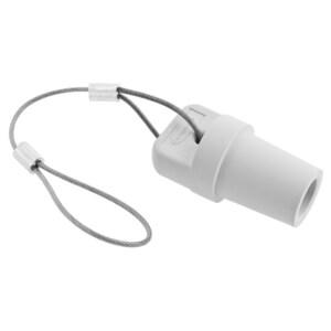 Hubbell-Wiring Kellems HBLMCAPW SINGLEPOLE, MALE CAP,