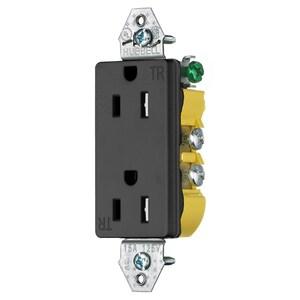 Hubbell-Wiring Kellems RRD15KBKTR HUB RRD15KBKTR RCPT, DUP, DEC, TR,