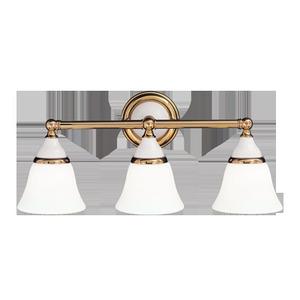 Hudson Valley Lighting 463PN 22.5 3-100W PORC BATHBAR