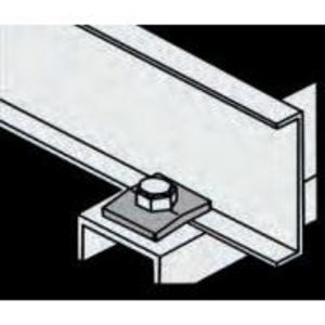 Husky AHDC-A Beam Clamp, Hold Down/Flange Out, Aluminum