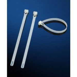 "IBOCO ICT-50R-M Cable Ties, 7.49"" Long, Natural"