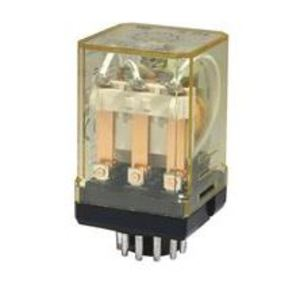 IDEC RR3PA-ULAC120V Relays, Ice Cube, 10A, 11-Pin, 3PDT, 120VAC Coil, Indicator Light