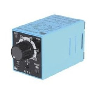 IDEC RTE-P1AF20 Timing Relay, 10 Function, 10A, DPDT Contacts, 120/240VAC, 8-Pin