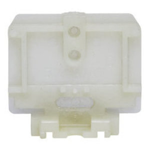 Ideal 250 Din Rail End Section, Nylon, Heavy Duty, Flat Base, Bag of 25
