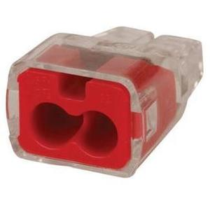 Ideal 30-1032J Wire Connector, 2-Port, Push-In, 18 - 12 AWG, 300/Jar