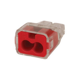 Ideal 30-1632 Wire Connector, 2-Port, Push-In, 18 - 12 AWG, 5000/PK