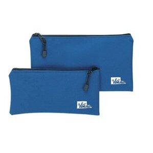 """Ideal 35-403 Zipper Pouch, 12-1/2 """" Length, Blue"""