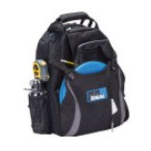 """Ideal 35-409 Dual Compartment Tool Backpack, 18"""""""