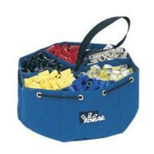 Ideal 35-655 6-Pocket Small Parts Bag - Blue