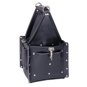 Ideal 35-975BLK Tool Carrier, Black, Number Of Pockets: 21