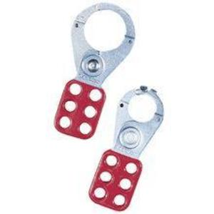 Ideal 44-801 Safety Lockout Hasps - Red, 2 per Pack