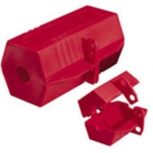 Ideal 44-818 Plug Lockout, 110V, Red