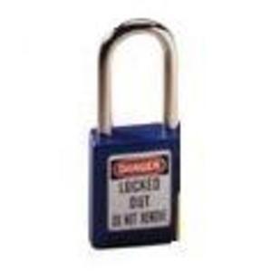 Ideal 44-912 Safety Lockout Padlock - Blue