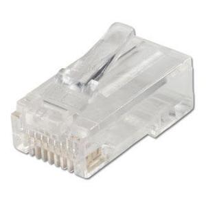 Ideal 85-344 Modular Plug, RJ-11 6-Position, 4-Contact