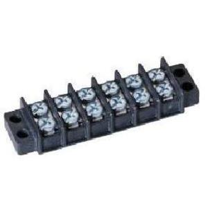 Ideal 89-206 Terminal Strip, 10 to 22 AWG, 6 Circuit, 30 Amp, 600 Volt