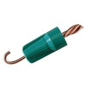 Ideal BGR-1 Grounding Wire Connector, 14 to 10 AWG, Green, Box of 50