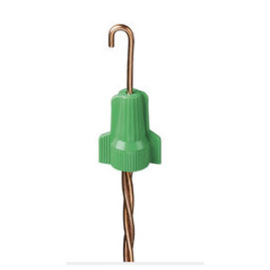 Ideal WGR-B Wire Connector, Type: Grounding, 14 to 12 AWG, Green