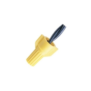 Ideal WT51-B Wire Connector, Winged, 18 to 12 AWG, 600V, Yellow