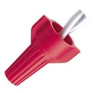Ideal WT52-500JR Wire Connector, Winged Twister, 18-10 AWG, Red