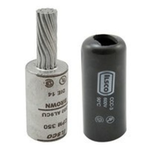 Ilsco CPM-600 Terminal Plug, Copper, 600 MCM, CU/AL Rated