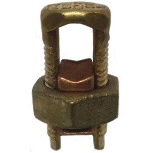 Ilsco IK-1/0 Split Bolt Connector, Copper, 4 - 1/0 AWG