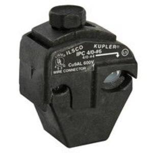 Ilsco IPC-4/0-6-B Insulation Piercing Connector, 4/0-4 Run, 6-14 Tap