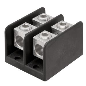 Ilsco PDB-24-500-1 Power Distribution Block, 1-Pole, 600V, Aluminum