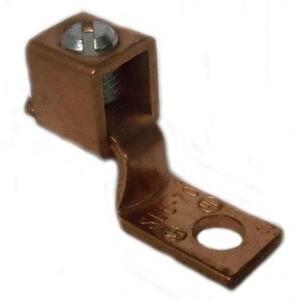 Ilsco SLU-125 6-1/0 AWG Copper Solderless Lug