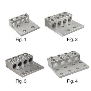 Ilsco T4A4-350N 6 AWG-350 MCM Aluminum Solderless Lug