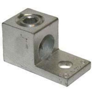 "Ilsco TA-250 Mechanical Lug, 1-Hole, Aluminum, (1) 6 AWG - 250 MCM CU/AL, 5/16"" Stud Size"
