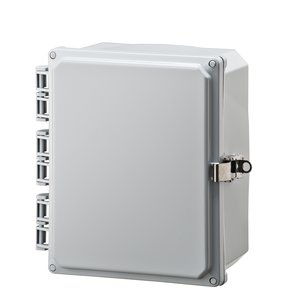 Integra Enclosures H10084HFLL Enclosure, Opaque Hinged Cover With Stainless Steel Latch