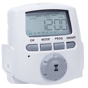 Intermatic DT620 Indoor Digital 2-outlet Timer