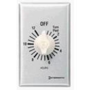 Intermatic FF30MC Time Switch, 30-Minute, SPST, Brushed Aluminum/Sandstone