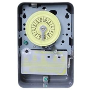 Intermatic T103P Mechanical Timer, 24 Hour, DPST, NEMA 3R, 40A, 125V