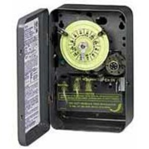 Intermatic T1475BR 24-Hour 4PST Mechanical Timer