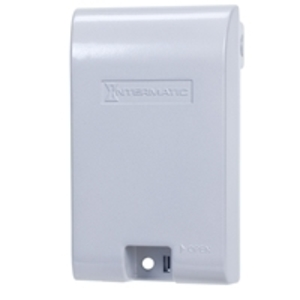 Intermatic WP1010MXD Weatherproof While-In-Use Cover, 1-Gang, Vertical/Horizontal, Clear
