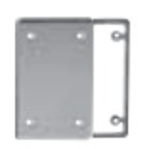 Ipex 077611 Weatherproof Cover, 1-Gang, Type: Blank with Gasket, Non-Metallic