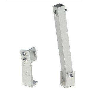"""IronRidge TM-FTL-025 Tilt Leg Kit, Fixed Tilt Leg, 25"""", Mill, North Tilt Leg Length: 25"""""""