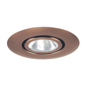 "Juno Lighting 10-ABZ Gimbal Ring Trim, Flush, 4"", Classic Aged Bronze"