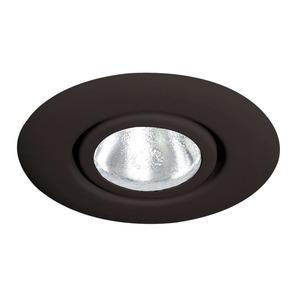 "Juno Lighting 10-BL Gimbal Ring Trim, Flush, 4"", Black, Limited Quantities Available"