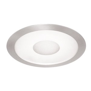 """Juno Lighting 242-SC 6"""" Frosted Lens Trim with Clear Center"""